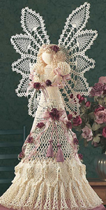 Heavenly Pineappy Angel :: Free #Crochet Angel Patterns