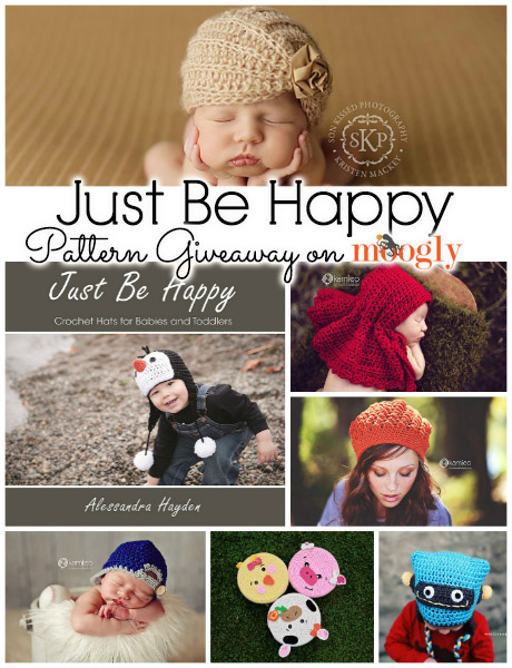Just Be Happy Pattern Giveaway!! Entry deadline is November 19th at 12AM Eastern.