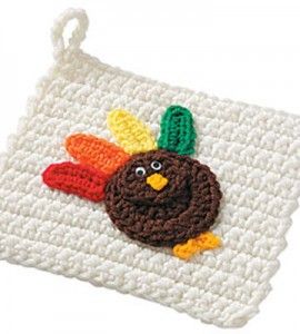 Thanksgiving Pot Holders :: Free Crochet Turkey Patterns!