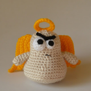 The Cranky Angel :: Free #Crochet Angel Patterns