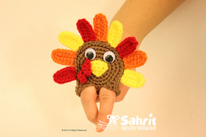 Turkey Finger Puppet :: Free Crochet Turkey Patterns!