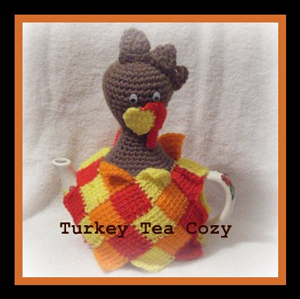 Turkey Tea Cozy :: Free Crochet Turkey Patterns!