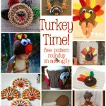 Turkey Time: 10 Free Crochet Turkey Patterns!