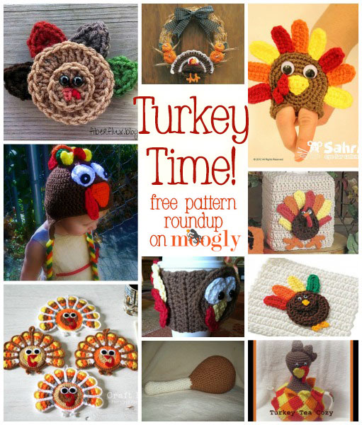 10 Free Crochet Turkey Patterns!