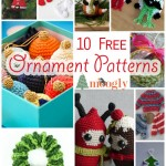 Handmade Holidays with 10 *More* Free Crochet Ornaments!