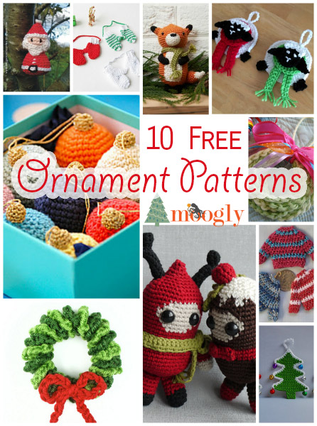 Little Christmas Decorations To Knit Crochet