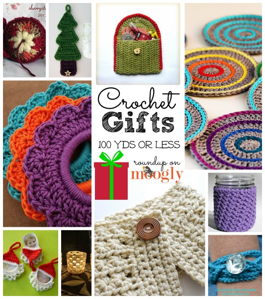 Crochet Gifts : 10 Great free #crochet gift patterns that take 100 yds of yarn or less ...