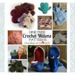 Warm Hands For Winter: 9 Free Crochet Mittens Patterns