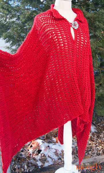 Fairy Tale Poncho: free #crochet pattern in sizes Small -5X!