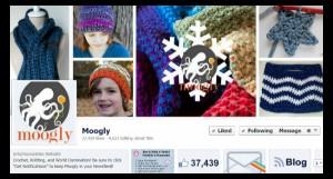 "Moogly on Social Media - follow the #crochet fun! Guest Post by ""e"" Lee of The Crochet Lounge!"