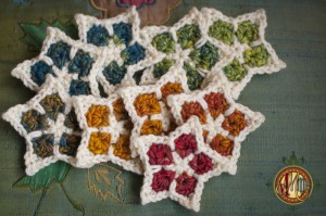 Star Light Star Bright :: free #crochet ornament pattern!