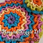 Wiggle It Crochet Trivet & Dishcloth Tutorial