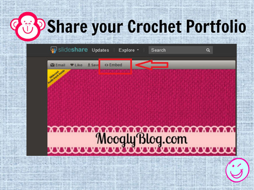 How to Create a #Crochet Portfolio!
