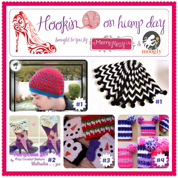 Hookin on Hump Day #62: The best and brightest fiber arts projects around!