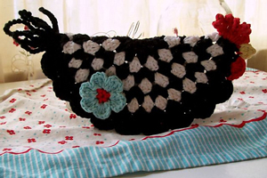 A Chicken for Every Pot: Free #Crochet Chicken Patterns!