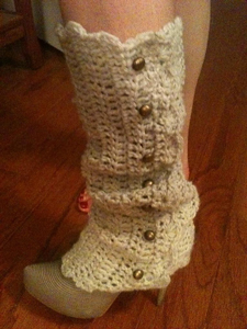 Alicia Legwarmers: Free #crochet leg warmers pattern