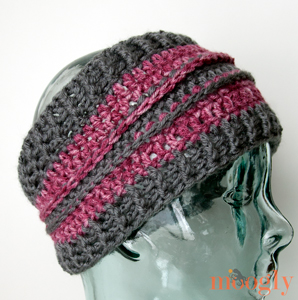 All Grown Up Ear Warmer: free #crochet pattern in 2 sizes!