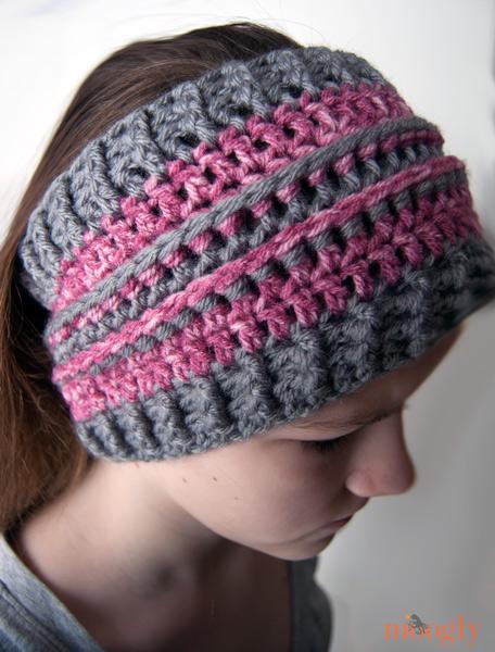 All Grown Up Ear Warmer: free #crochet pattern in 2 sizes!