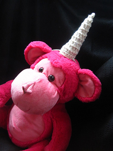 Amigurumi Unicorn Horn: Free #crochet unicorn pattern