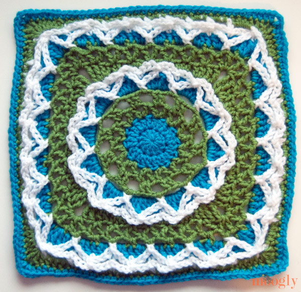 Moogly Afghan Crochet-a-long 2014: Come join in! It's all free! :D