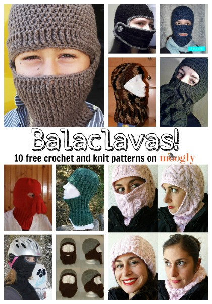 Brrrrr Ing Me Balaclavas 10 Free Crochet And Knit Patterns