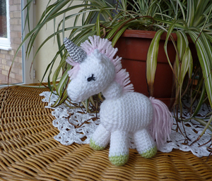 Charley the Unicorn: Free #crochet unicorn pattern