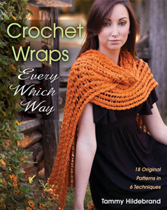"Win a copy of ""Crochet Wraps Every Which Way"" on Moogly! Giveaway ends 2/4/2014 at 12am Eastern time. Continental US only. Good luck everybody! #crochet #giveaway"