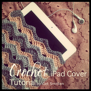 Crochet IPad Cover: Free #Crochet Pattern