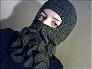 Cthulu Beard Hat  Free  crochet and  knit balaclava patterns to keep you  warm db336204145