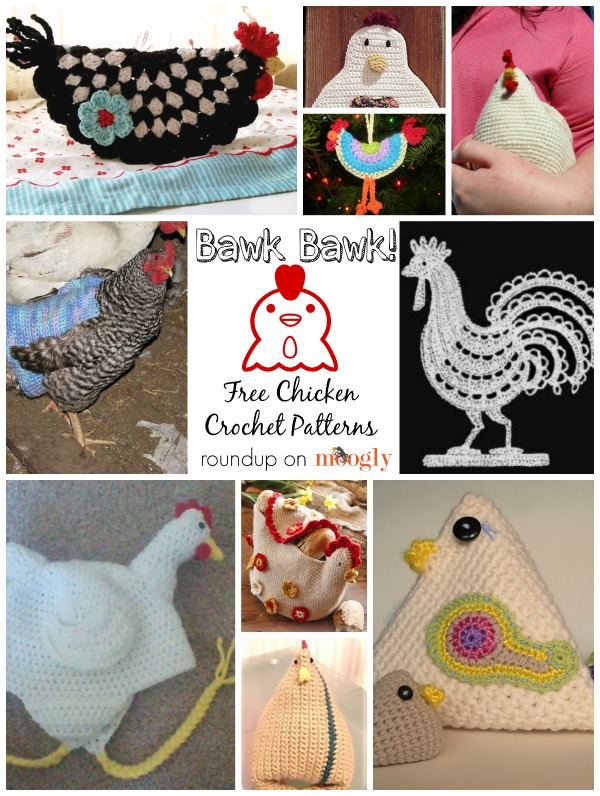 Free #Crochet Chicken Patterns!