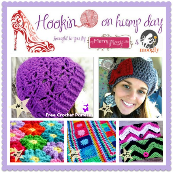 Hookin On Hump Day #63! Link up to the best crochet and knit and sewing linky party around, and get lots of crafty inspiration!