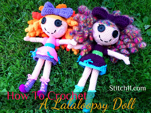 Lalaloopsey Doll by Stitch11 - featured in the January 2014 designer showcase!
