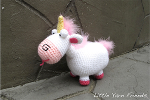Lil' Fluffy Despicable Me: Free #crochet unicorn pattern