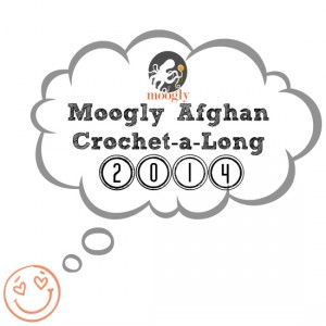 Moogly Afghan Crochet-a-Long Block #8! Join in and #crochet with us! All free!