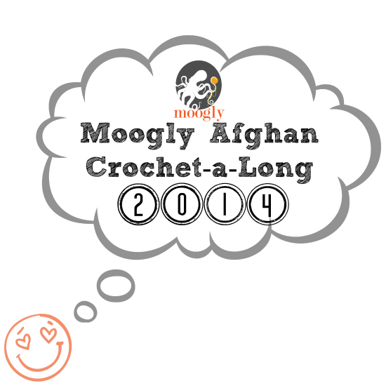 Come join the Moogly Afghan CAL 2014! All free #crochet patterns and a great community to make them with!