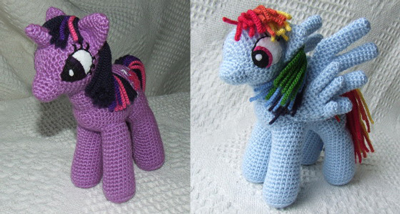My Little Pony: Friendship is Magic: Free #crochet unicorn pattern