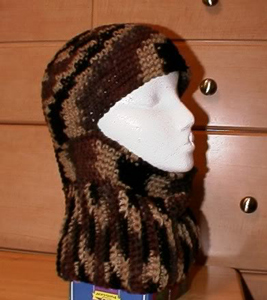83454b1ac78 Ribbed Ski Hat  Free  crochet and  knit balaclava patterns to keep you warm