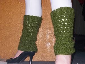 Retro Rockstar Leg Warmers: Free #crochet leg warmers pattern