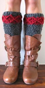 Stirrup Leg Warmers: Free #crochet leg warmers pattern