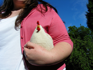 The Cluck Clutch: Free #Crochet Chicken Patterns!