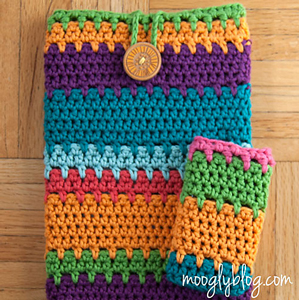 Ultimate Universal Electronics Cozy: Free #Crochet Pattern