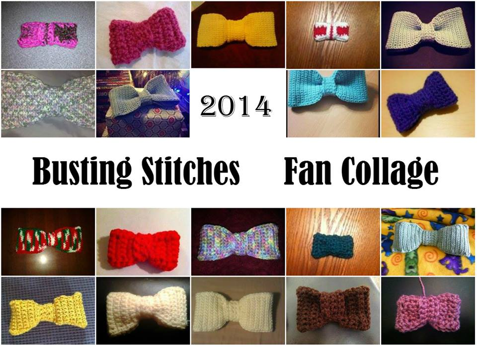 Amazing One Piece Bows: Free #Crochet Pattern by Busting Stitches!