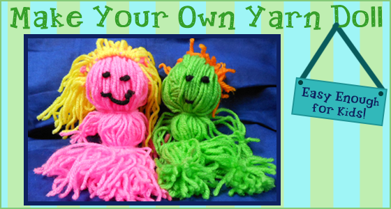 Great yarn craft ideas for kids!