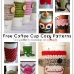 Café au Crochet: 10 Free Crochet Coffee Cup Cozies!