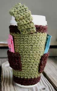 Coffee Is Life: Crochet for your coffee cup! 10 free #crochet coffee sleeve patterns to make today! Great for gifts and keeping fingers safe! ♥