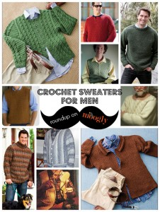 6cf68fb4e744 Manly Men Wear Crochet Sweaters  10 Free Patterns!