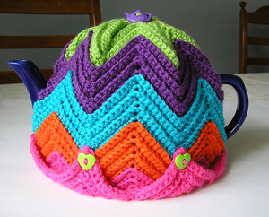 Free Easy Tea Cosy Crochet Pattern : Care for a Cuppa Crochet? 10 Free Tea Cozy Patterns!