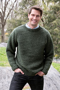 Manly Men Wear Crochet Sweaters: 10 Free Patterns!