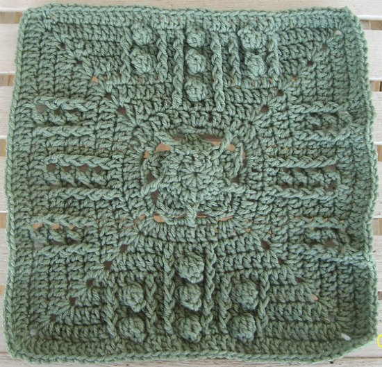 Moogly Afghan CAL Block #3!