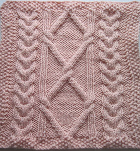 January Teapot Square: Free #Knit Afghan Square roundup on Moogly!